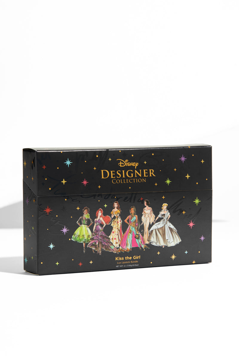 Disney x Colourpop Designer Collection PR Kit Kiss The Girl Creme Lux Lipstick Collection