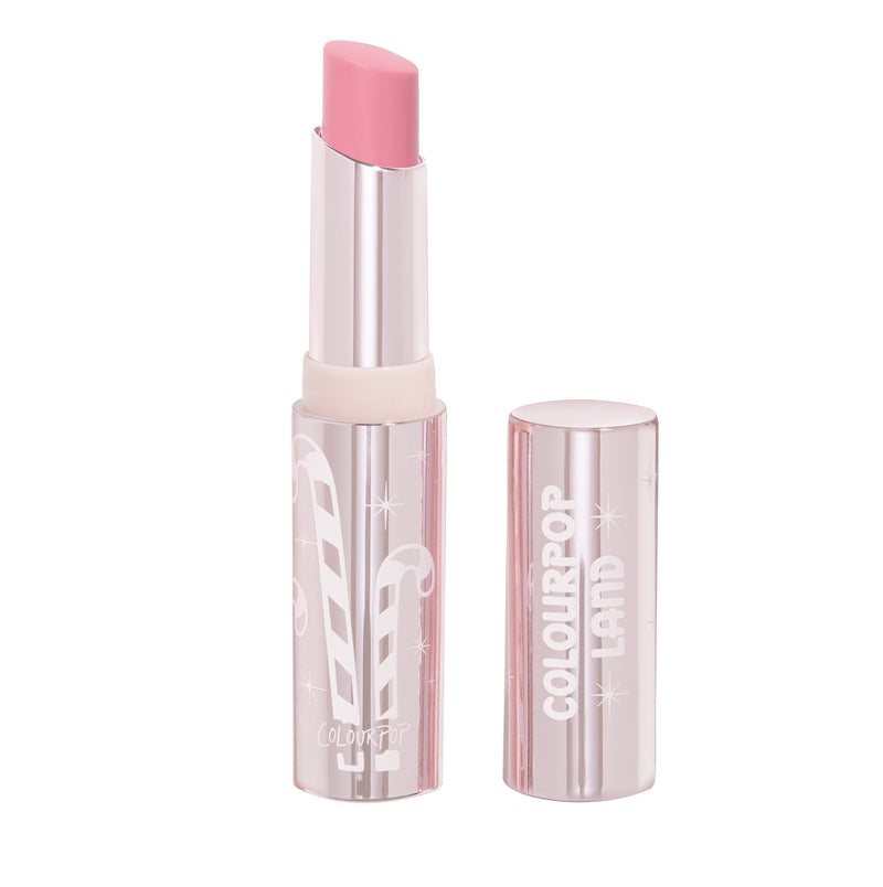 Candy Land Peppermint Frost sheer baby pink Glowing Lip Balm