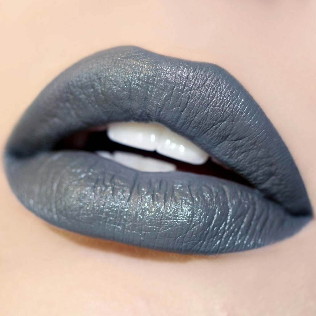 Petit Four neutral grey Ultra Satin Lip swatch