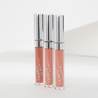 Sand Phase 3 includes Strip warm beige Ultra Satin Lip, Knotty light warm taupe Ultra Matte Lip, and Game On light warm nude Crème Ultra Glossy Lip
