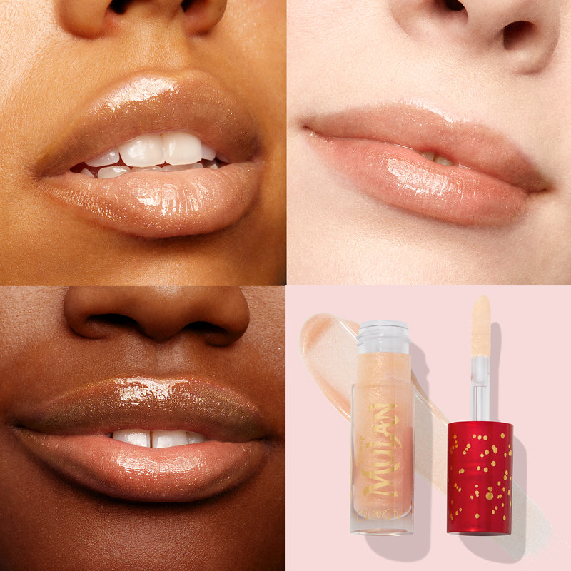 Phoenix Lux Gloss Lip Swatches on Models