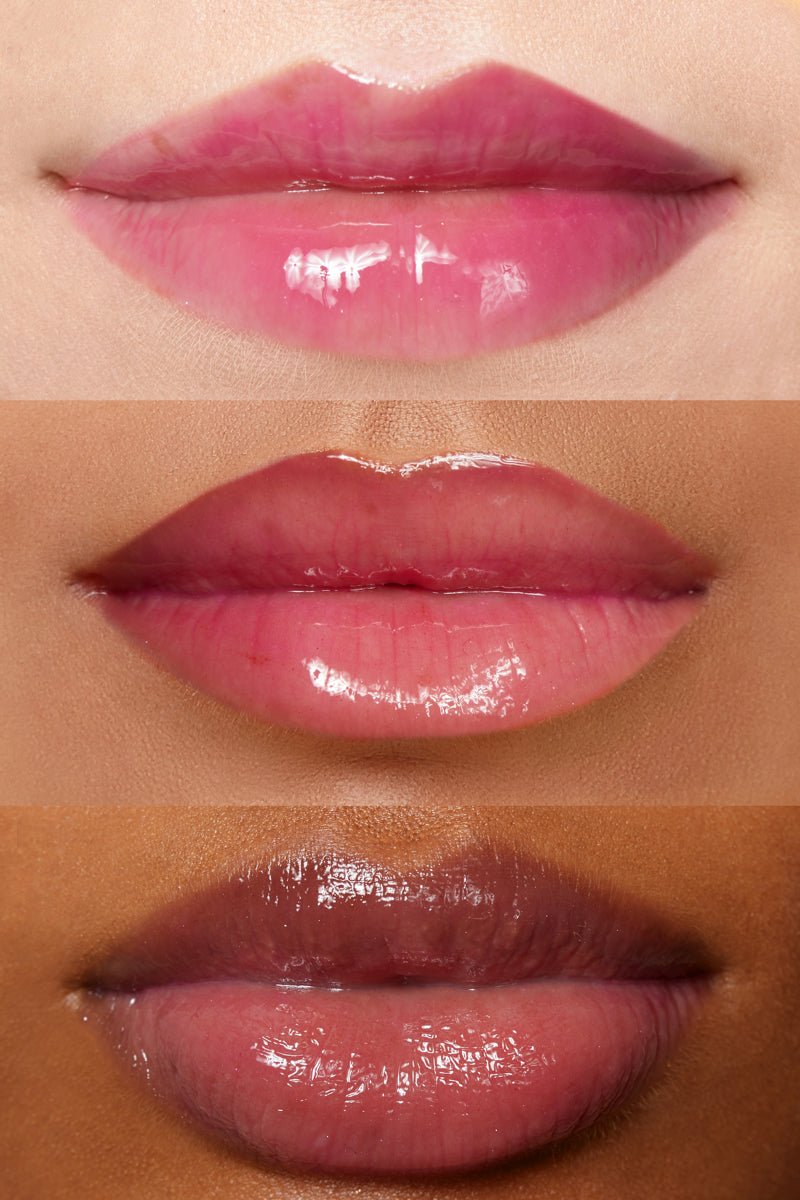 Pony Up sheer violet Ultra Glossy Lip lip swatches