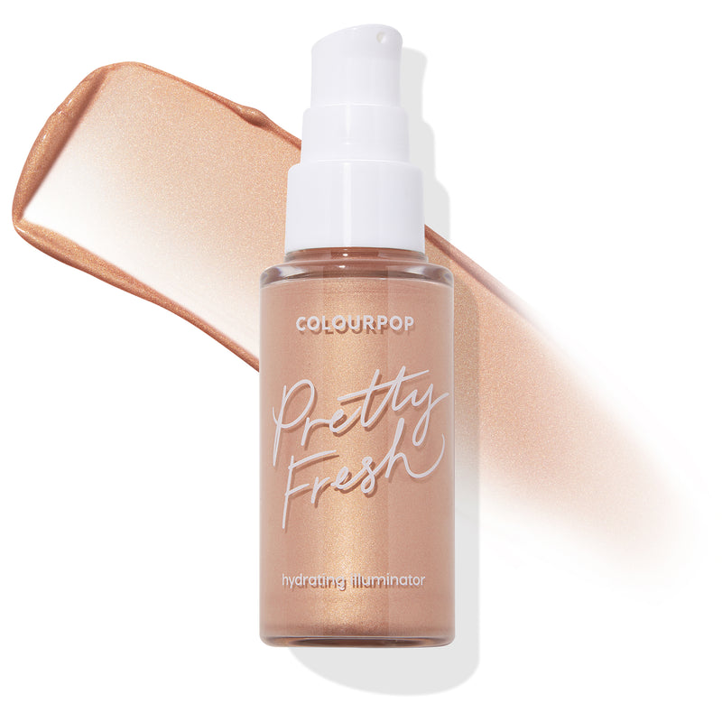 ColourPop Rose Gold Pretty Fresh hydrating highlight illuminator