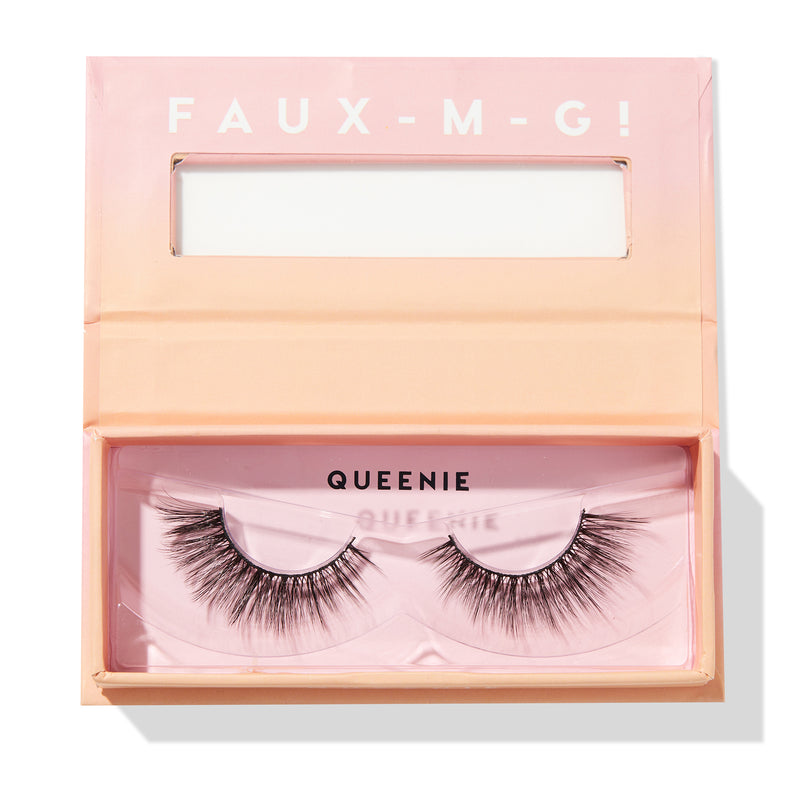 ColourPop Queenie Lightweight Falsies Faux Mink Lashes  perfect for Cat Eye