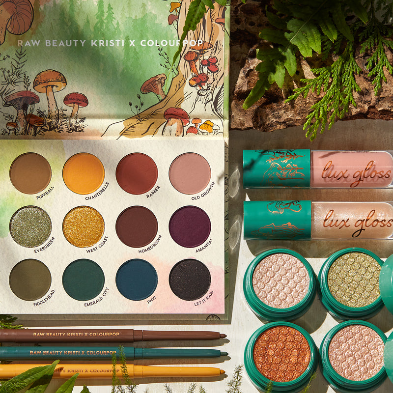 ColourPop Raw Beauty Kristi full collection