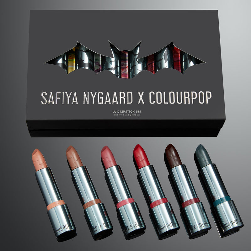 Safiya Nygaard Lipstick Collection