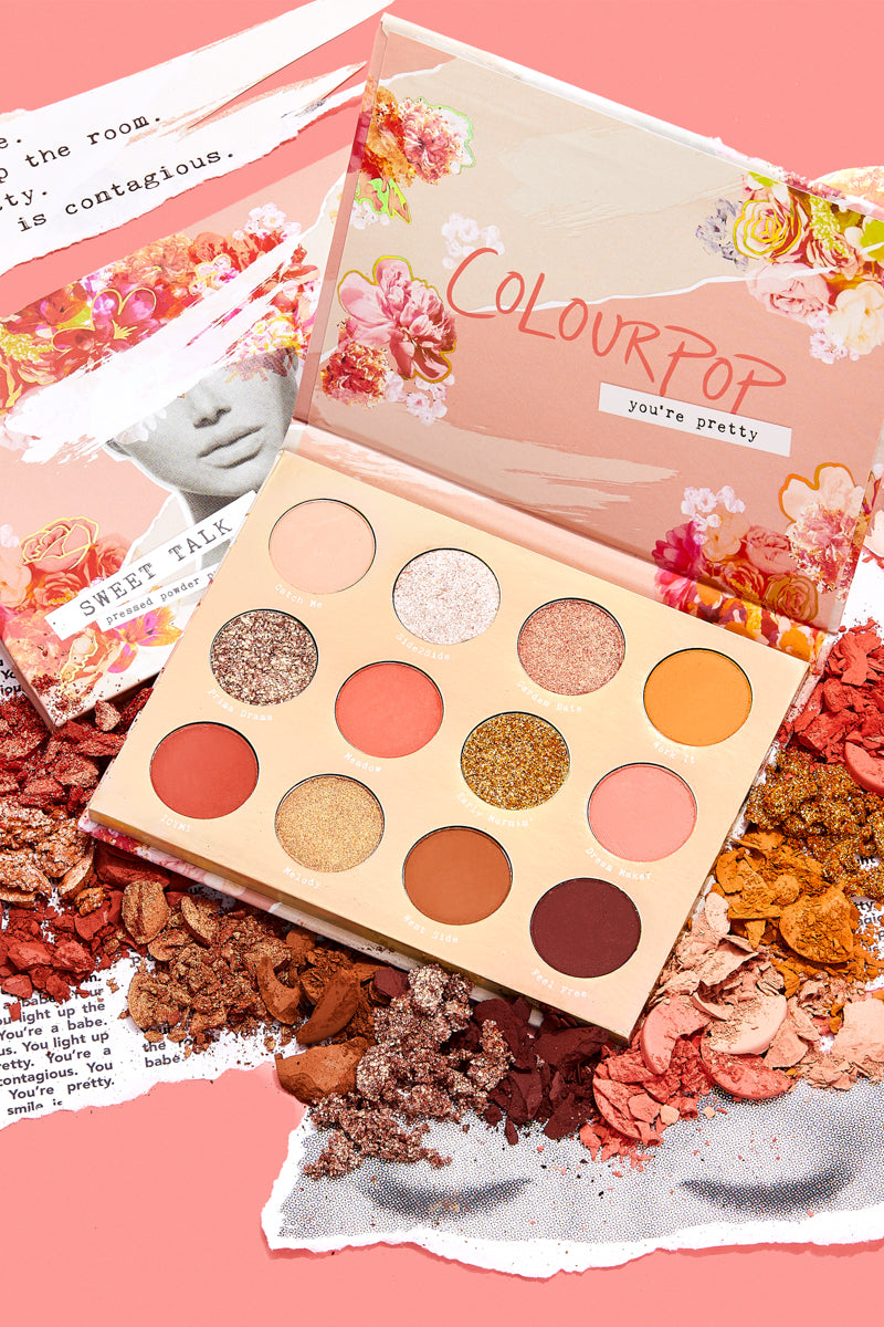 ColourPop Spring 2019 Collection sweet talk palette