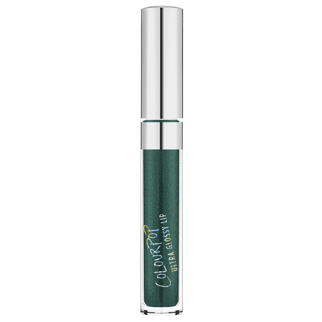 Crystal Ball metallic green Ultra Glossy Lip