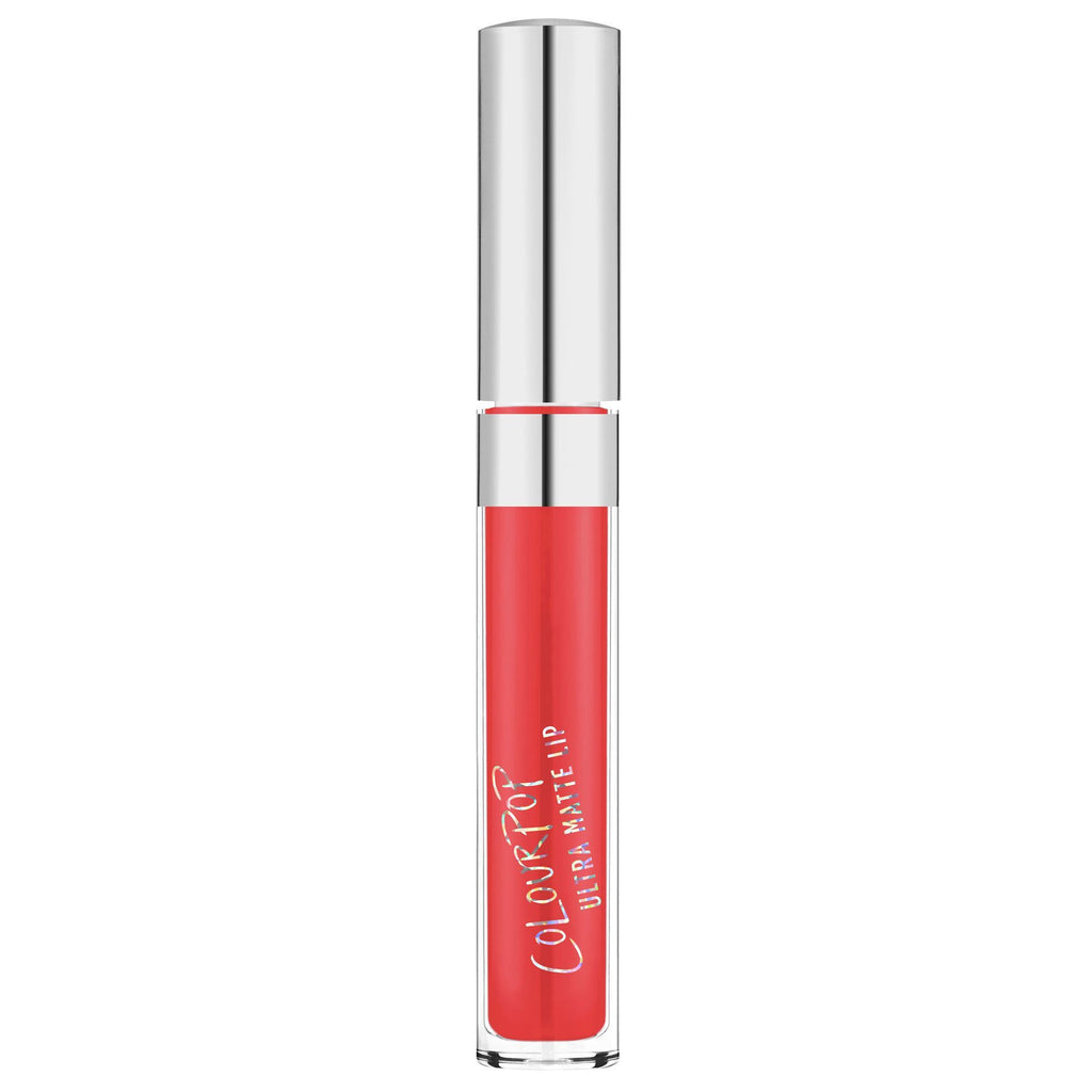 Ouiji bright coral Ultra Matte Lip