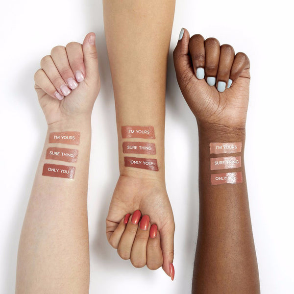 Only You warm mocha crème Lippie Stix swatches