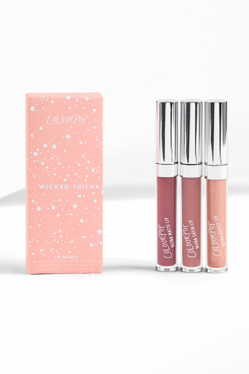 Wicked Trick Liquid Lip Bundle