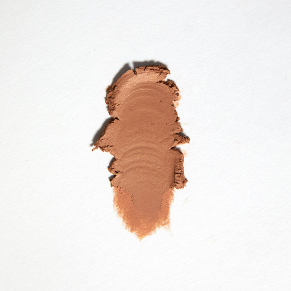 Karrueche Wilshire matte mid-tone warm peachy beige Super Shock eye Shadow