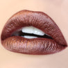Zebra bronze Ultra Metallic Lip swatch