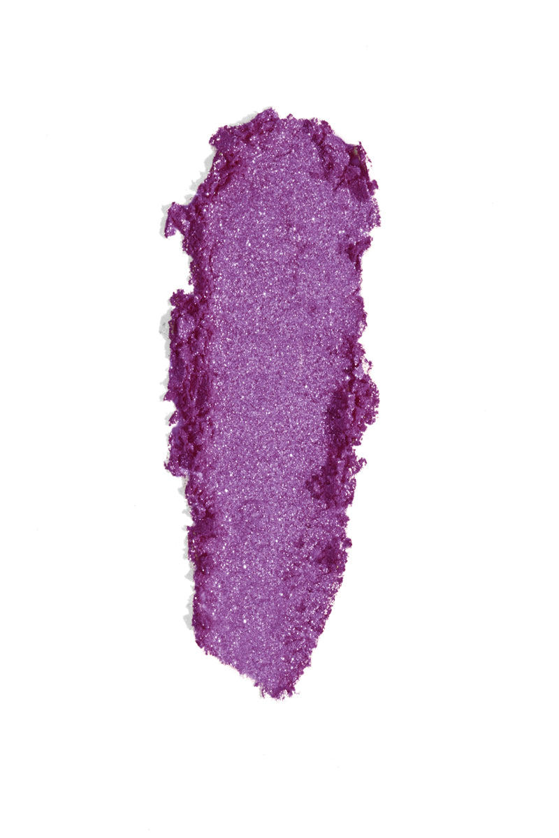 Badlands violet with pink and blue glitter Super Star Loose Pigment swatch