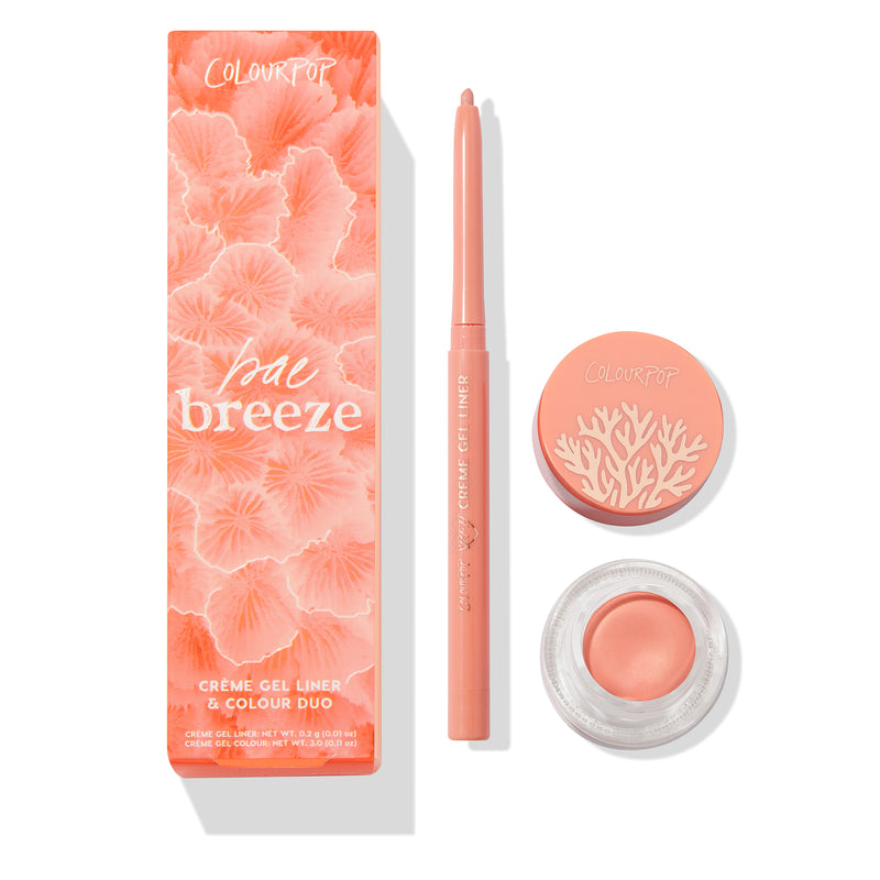 Bae Breeze bright peachy coral duo