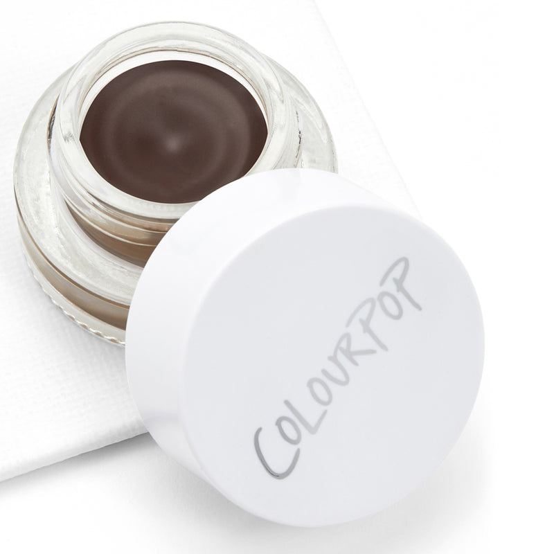 Black N Brown Cool dark brown Precision Brow Color pomade is waterproof