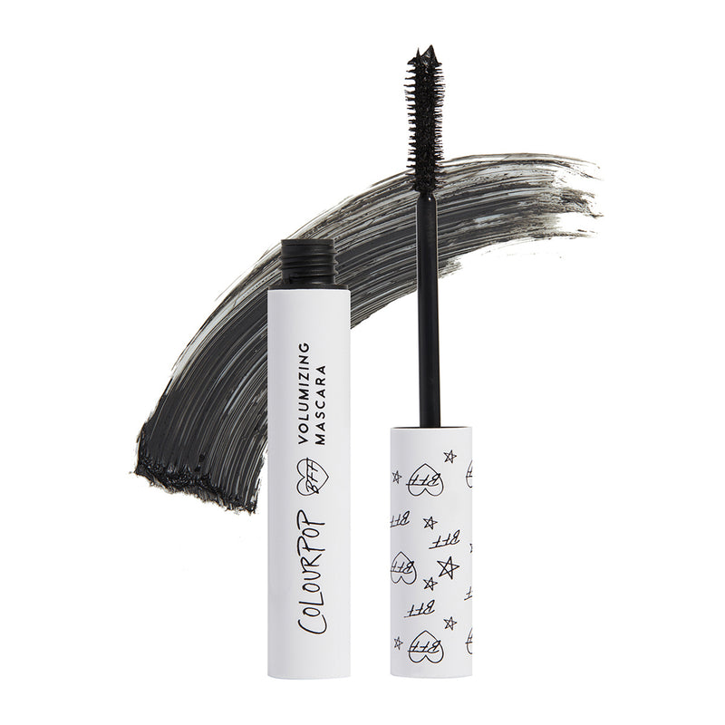 Colourpop BFF Mascara instantly volumizes, lifts, and lengthens lashes Black on Black