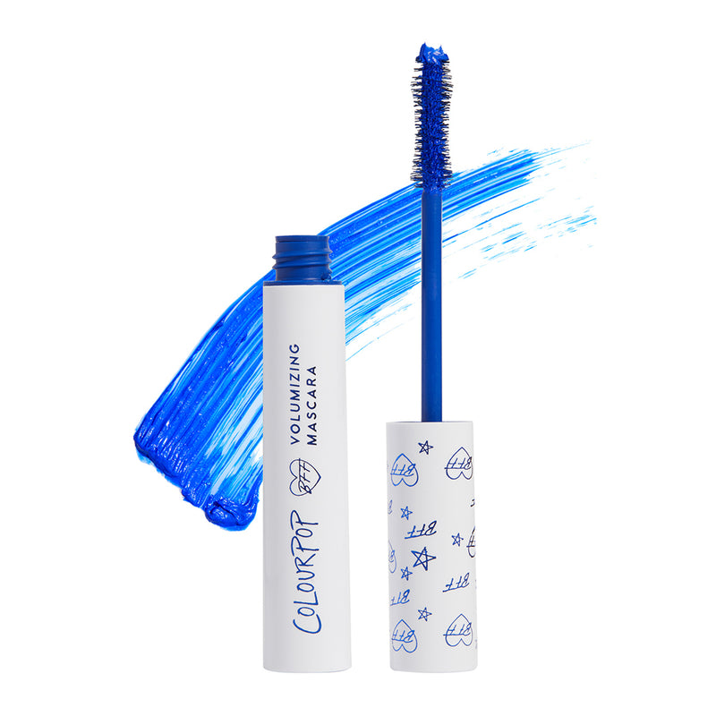 Colourpop BFF Mascara instantly volumizes, lifts, and lengthens lashes Blue Ya Mind Cobalt Blue