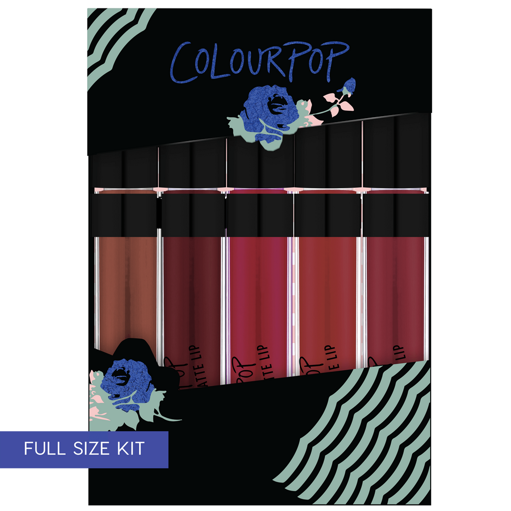 Blues Baby includes Mink, Smitten, Play Date, Avenue, and Notion Ultra Matte Lips