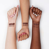 Bonus Points cool-toned chocolate brown Lippie Pencil swatches