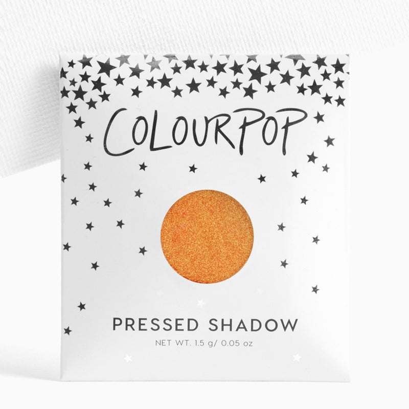 Chauffeur metallic duochrome orange and gold Pressed Powder Eyeshadow