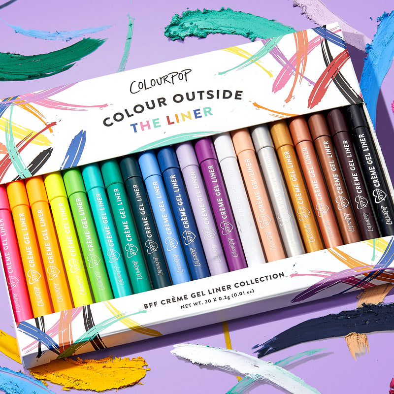 ColourPop Colour Outside the liner collection easy to use, glide-on pencils make it a breeze to create the look you want