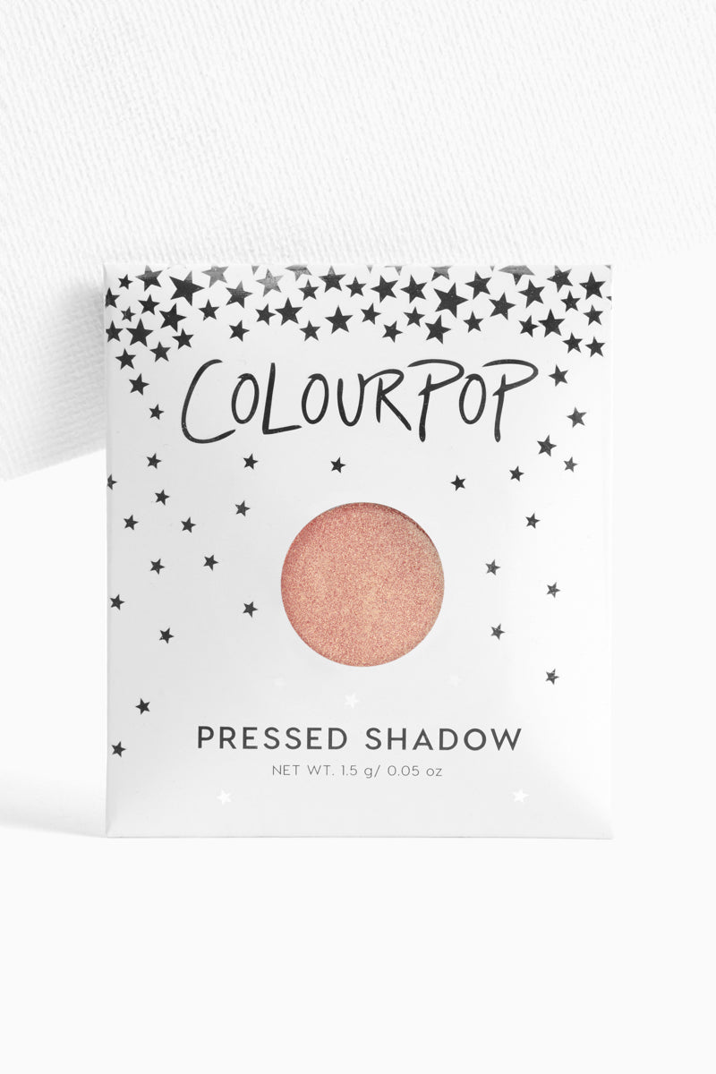Comeback Kid metallic pink champagne Pressed Powder Eyeshadow in envelope