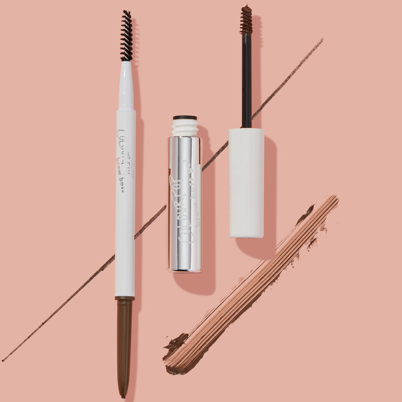 Brow Boss Duo Kit Includes a Eyebrow Gel and Brow Pencil