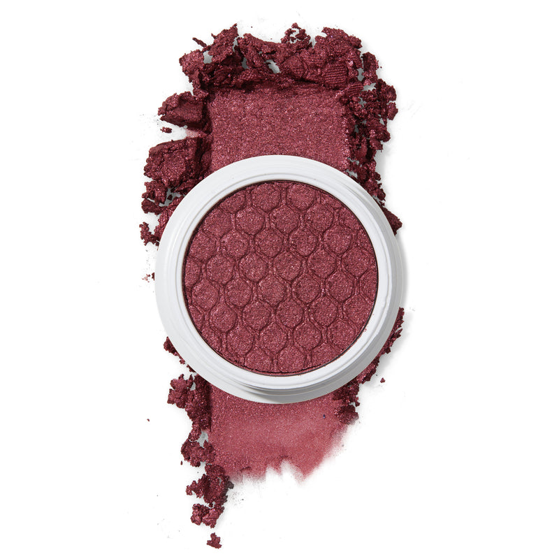 Set to Stun icy rose with blue glitter Super Shock Eyeshadow