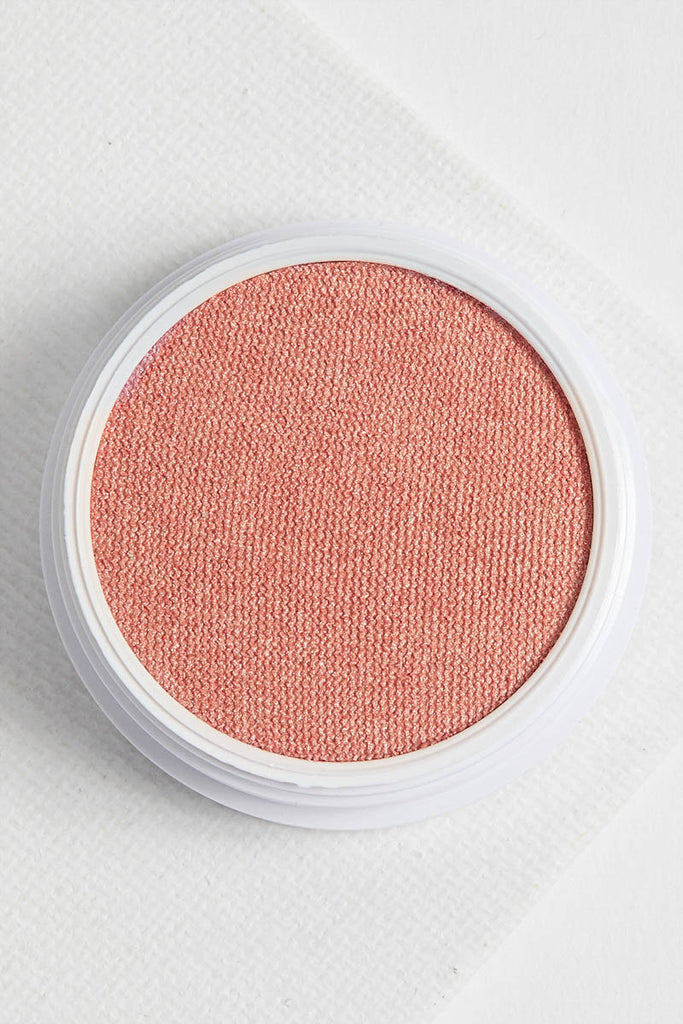 Drop of a Hat pearlized peach with a gold duochrome sheen pearlized Blush
