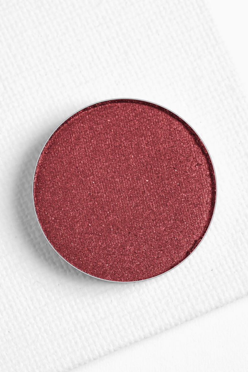 Easy Go metallic vibrant cranberry Pressed Powder eyeshadow