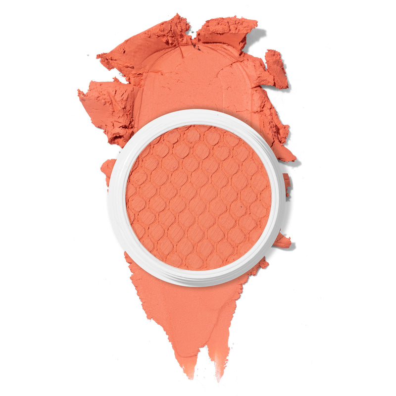 Get Leid matte bright peach Super Shock Blush
