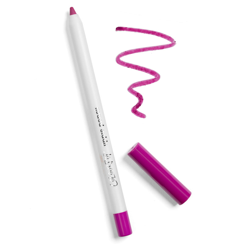 Heart On bright cool-toned magenta Lippie Pencil lip liner