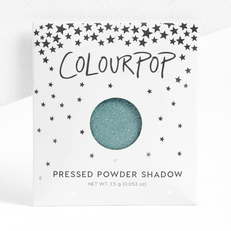 Heavenly metallic icy mint blue Pressed Powder Shadow