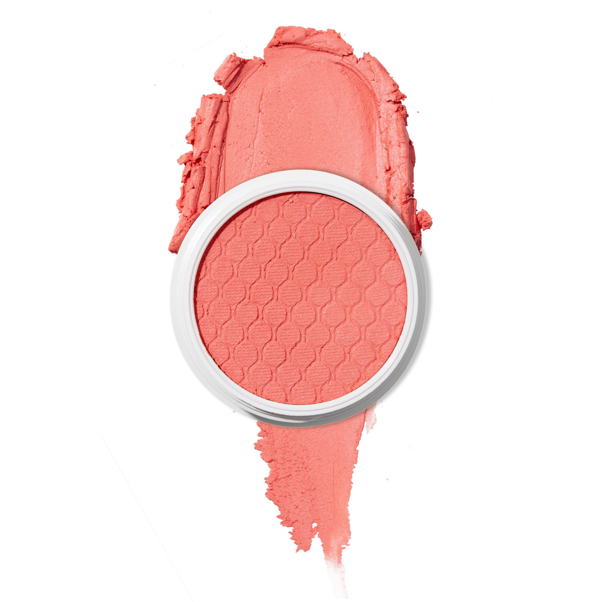 Holiday matte true mid tone peachy pink Super Shock Blush
