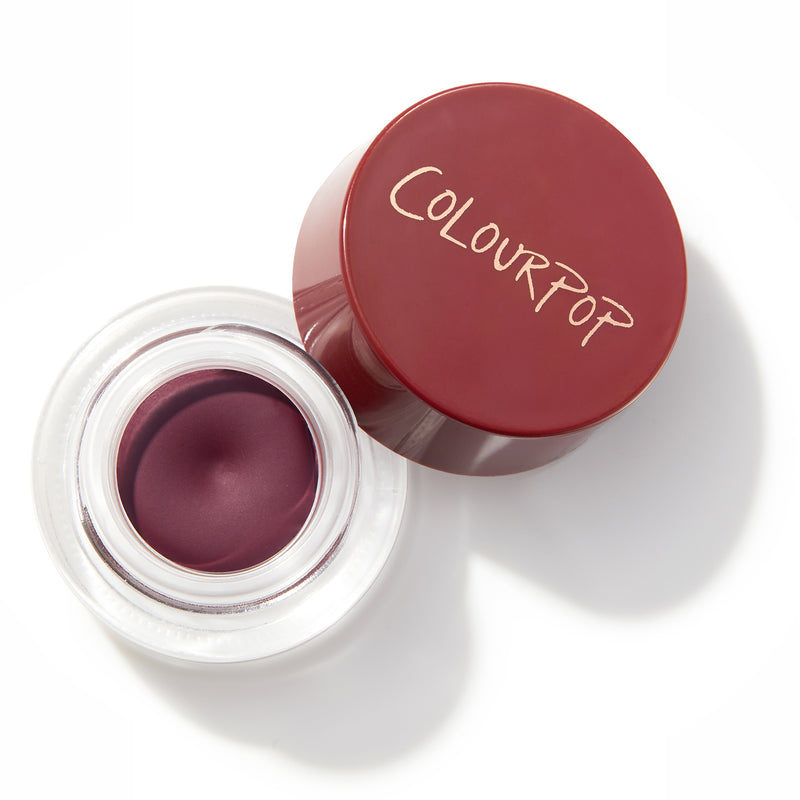Joy Ride a deepened burgundy Crème Gel Colour Pot