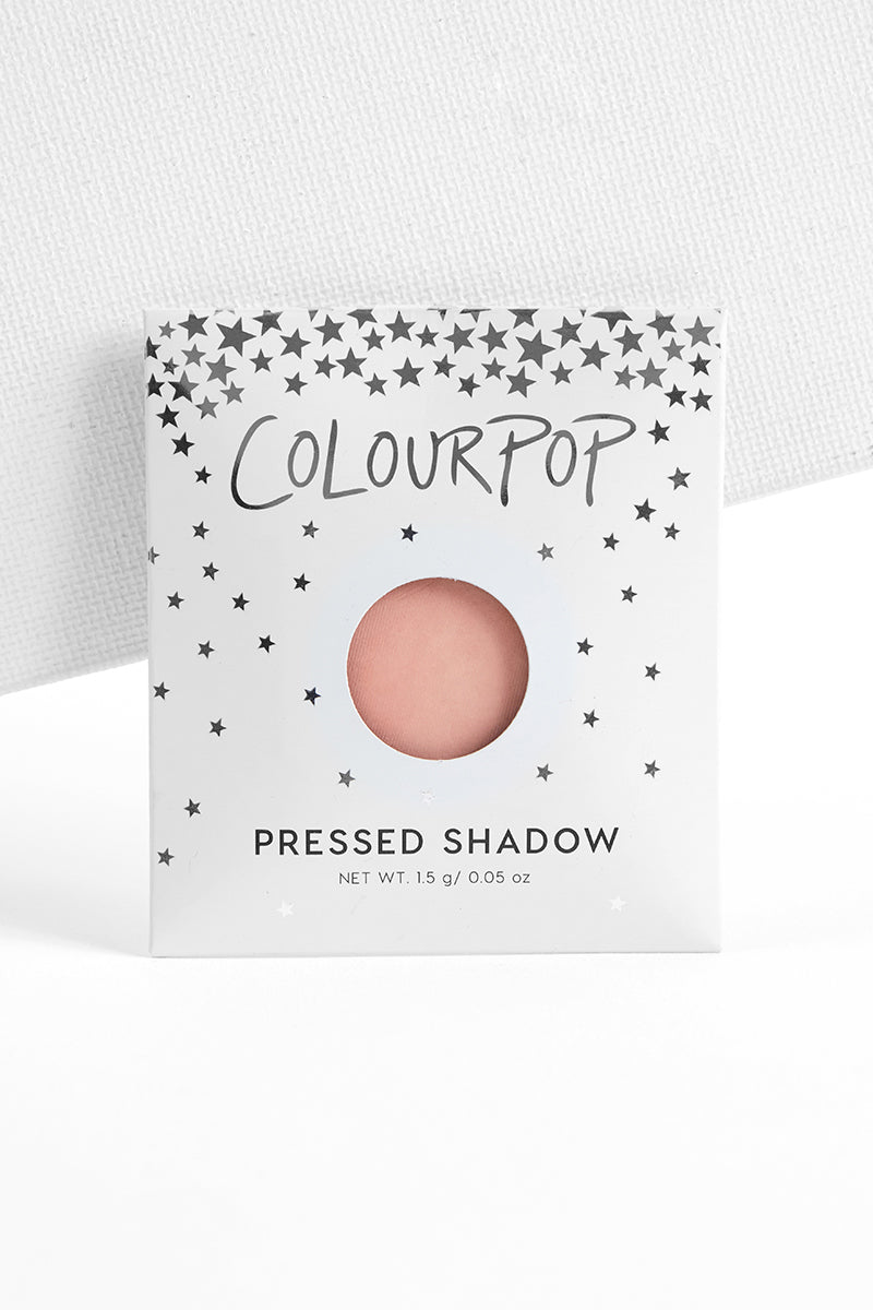 Lucky You matte true baby pink Pressed Powder eye Shadow in envelope