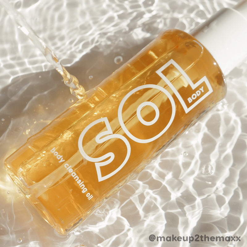 SOL Body body cleansing oil