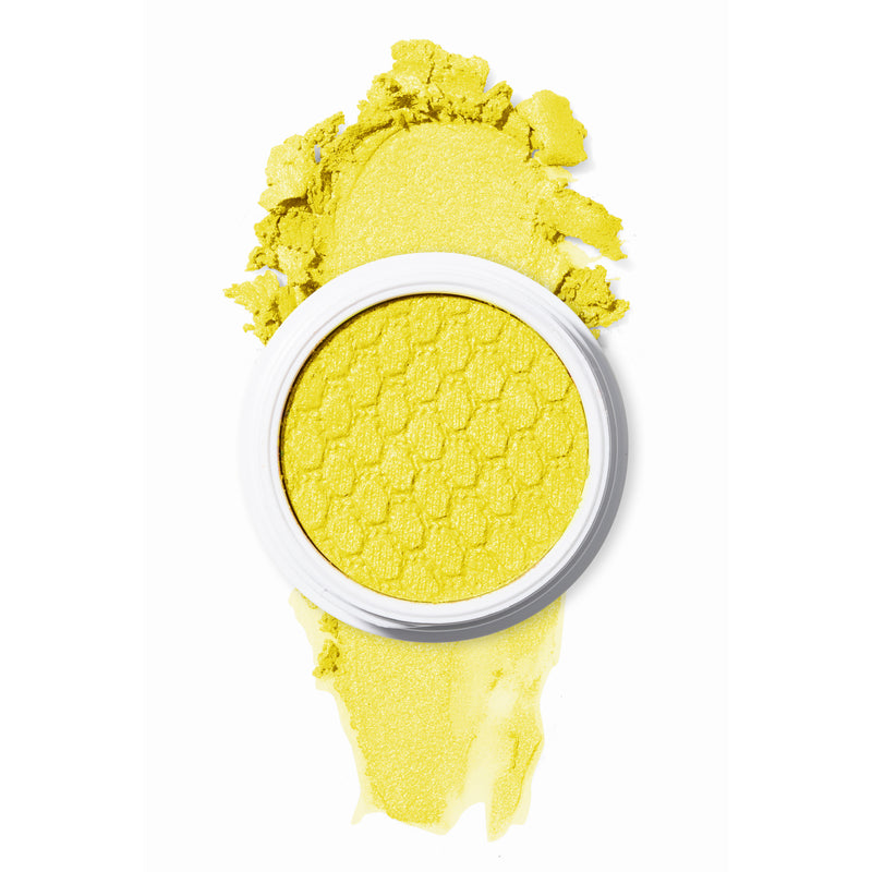 Glowstix neon yellow super shock pigment festival collection