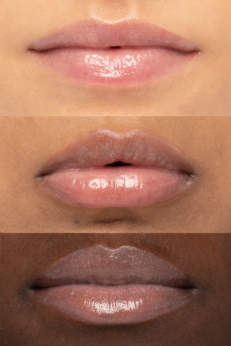 Colourpop x Make A Wish New Day Ultra Glossy Lip on lip swatches