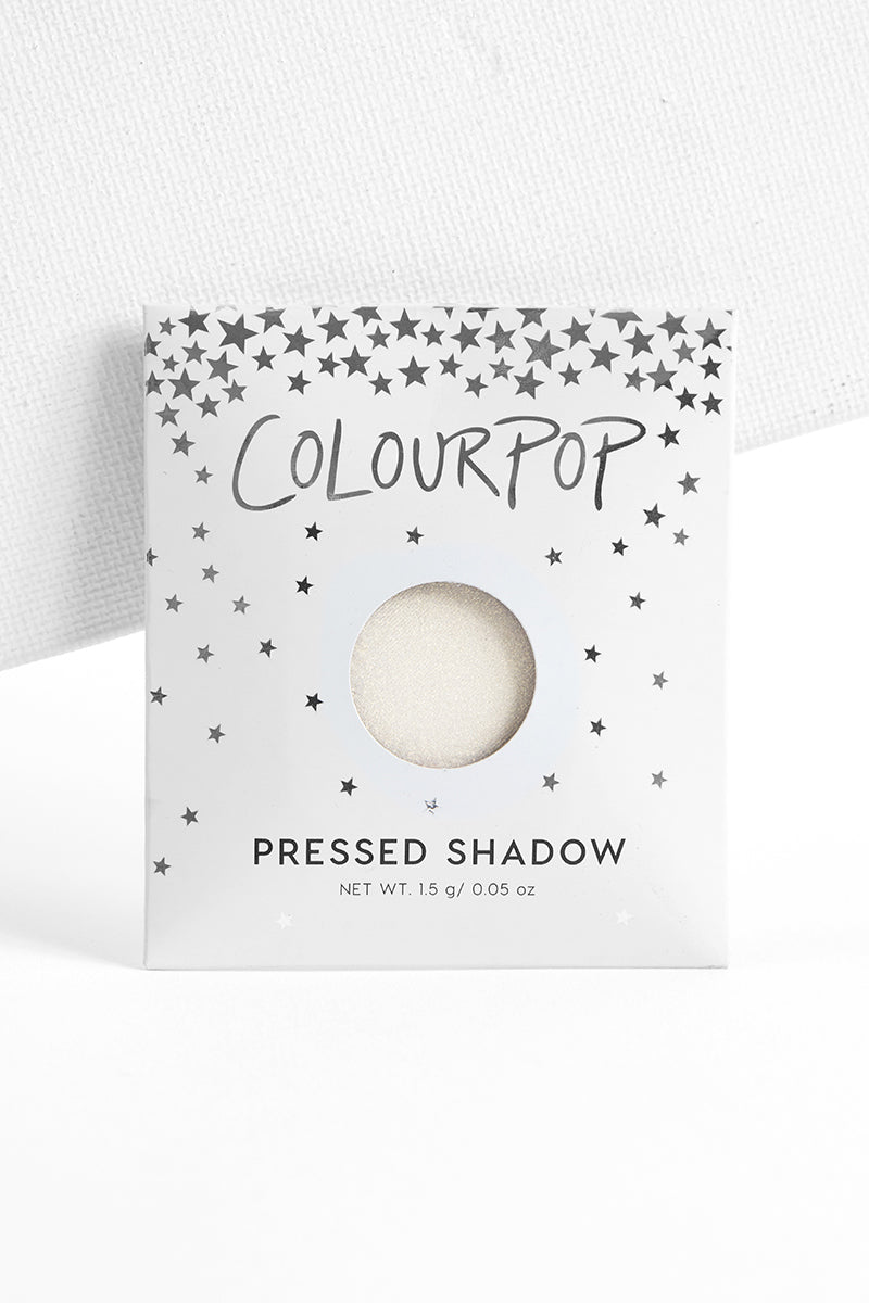Now and Zen metallic pale yellow gold Pressed Powder eye Shadow in envelope