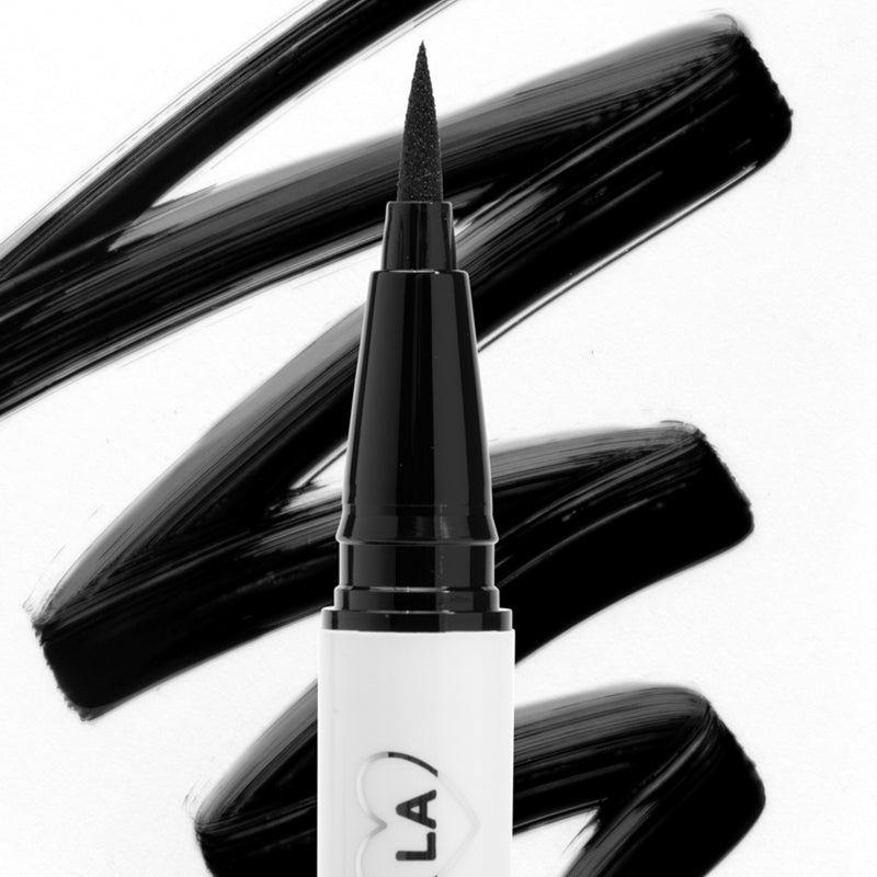 ColourPop BFF Liquid Liner Numero Uno true black an ultra-fine felt tip liquid eyeliner that delivers intense pigmentation in one easy swipe