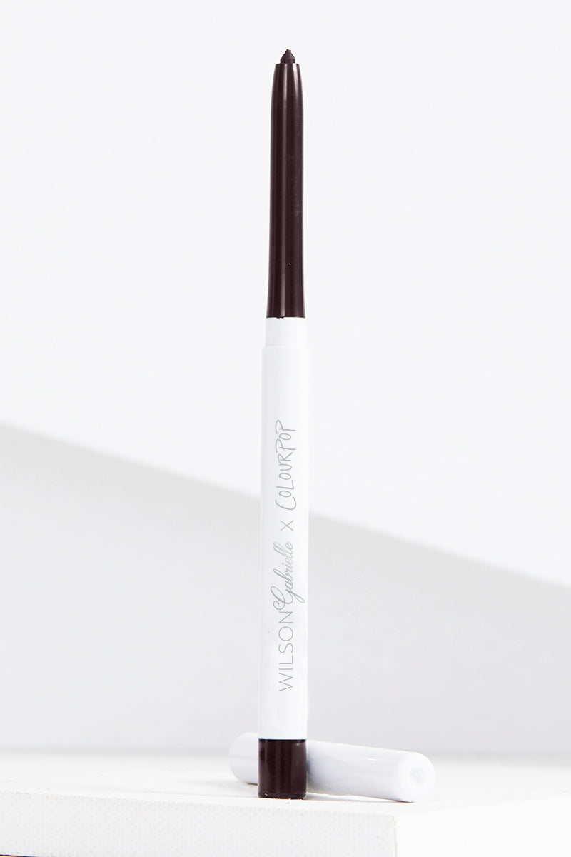 Wilson Gabrielle x ColourPop - Out of Line blackened brown Crème Gel eyeliner