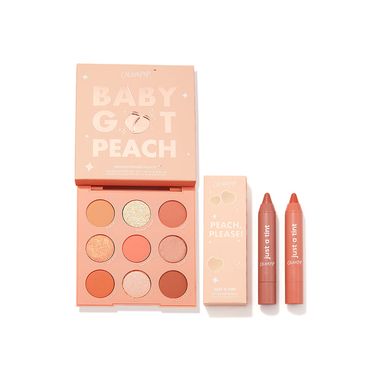 Peach of My Heart including Baby Got Peach Palette and Peach, Please! Lippie Tint Kit