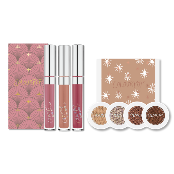 Casual Encounter All Nighter eye shadow Foursome Out and About lip bundle