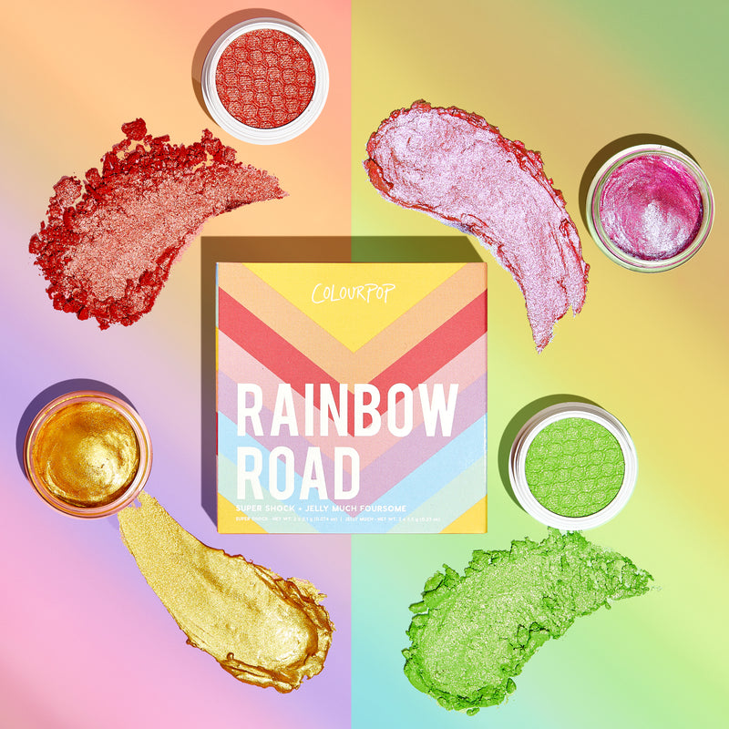 Rainbow Road Super Shock Shadow and Jelly Much Foursome stylized photo