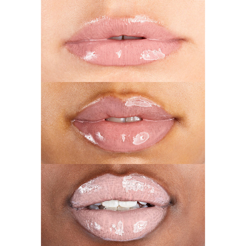 ColourPop Round About So Juicy Plumping Gloss Soft Pink Your lips but bigger. Creates fuller looking lips with the ultimate glassy, high shine finish.