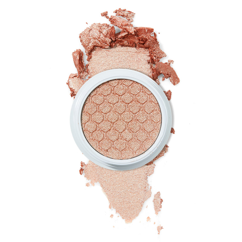 Sailor warm beige with multi-colored Ultra Glitter Super Shock eye Shadow