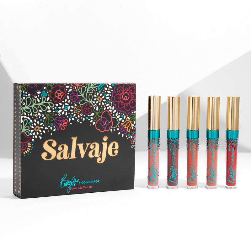 Becky G x Colourpop Salvaje Liquid Lip Bundle