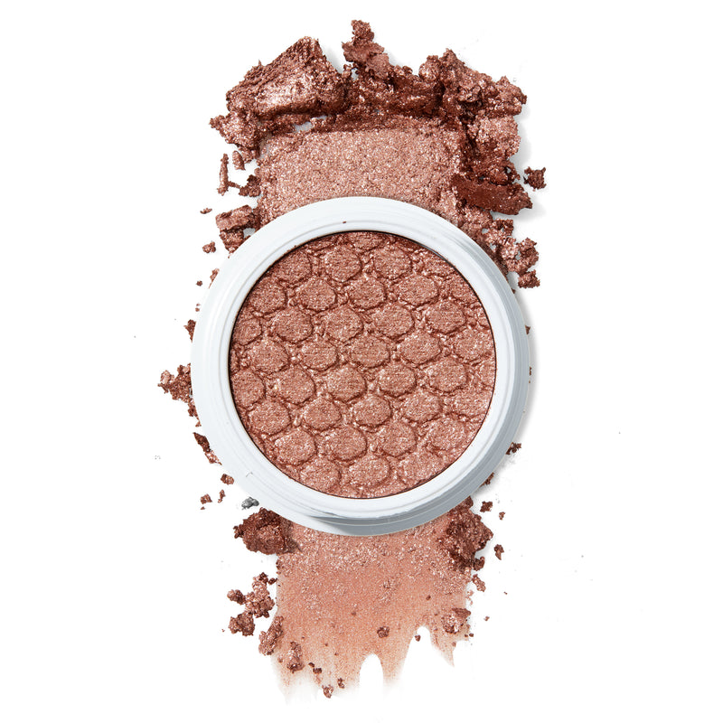 Sequin rosy penny copper with mutli-dimensional Ultra-Glitter finish Super Shock eye Shadow
